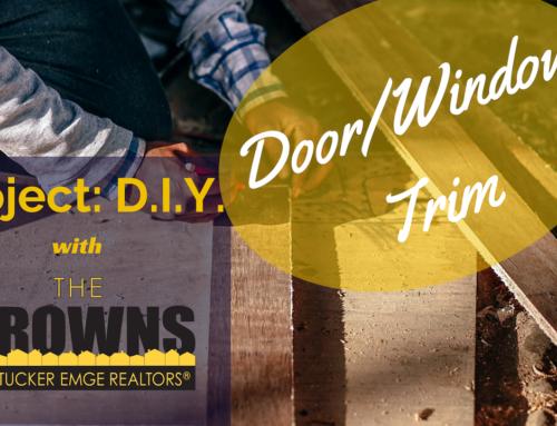 Project DIY: Door Trim Update!